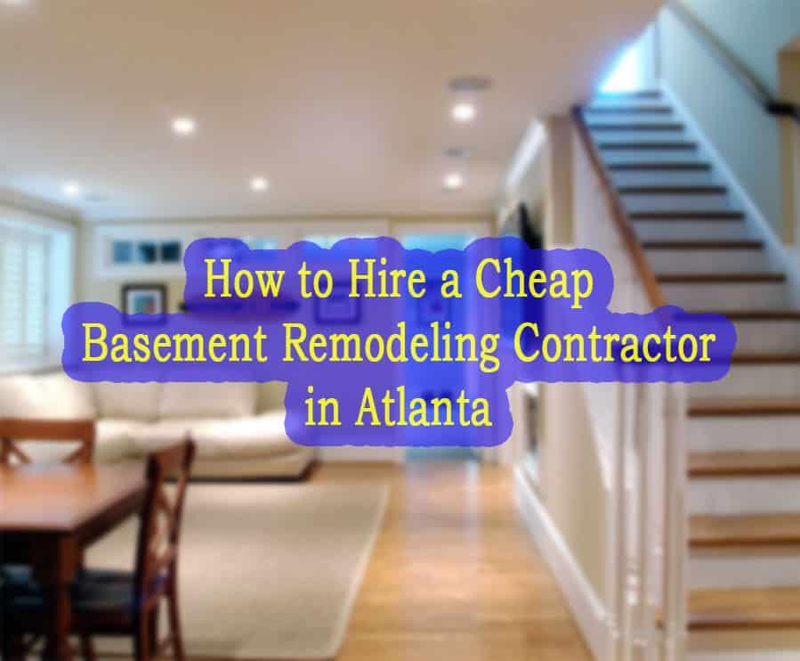 Best 5 Basement Finishing Contractors in Cumming
